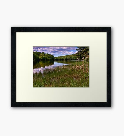 Union City Reservoir - Pennsylvania Framed Print