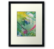 Secret Springtime Maps #3 Framed Print