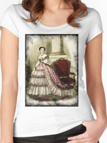 FASHIONABLE LADIES VINTAGE 31 Women's Fitted Scoop T-Shirt
