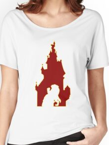 Beauty and the Beast Castle Women's Relaxed Fit T-Shirt