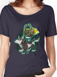 Twilight Princess Wolf Link and Midna Women's Relaxed Fit T-Shirt