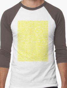 Keith Wall Yellow - Select Your Colour Men's Baseball ¾ T-Shirt