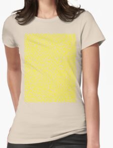 Keith Wall Yellow - Select Your Colour Womens Fitted T-Shirt