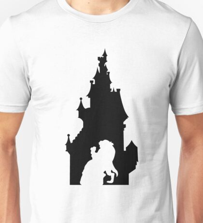 Beauty and The Beast (Black) Unisex T-Shirt