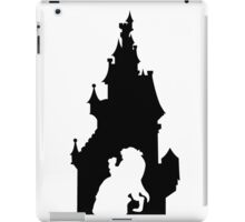 Beauty and The Beast (Black) iPad Case/Skin