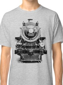 Vintage steam train illustration Classic T-Shirt
