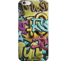 Graffiti street art iPhone Case/Skin