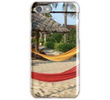 Hammocks on the Beach iPhone Case/Skin