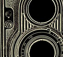 Vintage Retro Camera Sticker