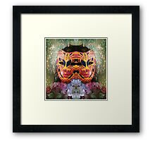 Self Portrait Series: Spring Mask No. 11 image 2 Framed Print