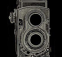 Vintage Retro Camera by Zehda