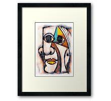 picasso graffiti # 5 Framed Print