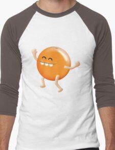 i love oranges! Men's Baseball ¾ T-Shirt