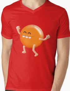 i love oranges! Mens V-Neck T-Shirt