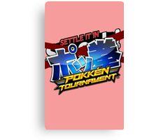 Settle It In Pokken Tournament! Canvas Print