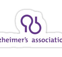 Alzheimer's association symbol Sticker