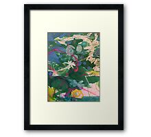 Secret Springtime Maps #4 Framed Print