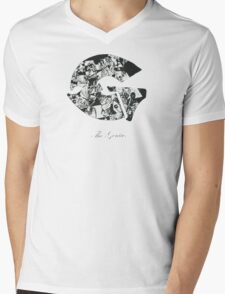 the genius Mens V-Neck T-Shirt