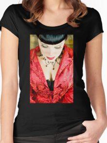Zen of Red Women's Fitted Scoop T-Shirt
