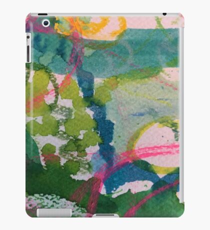 Secret Springtime Maps #1 iPad Case/Skin