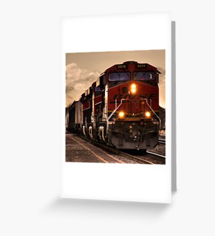 Flagstaff Freight  Greeting Card