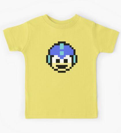 Megaman Head Kids Tee