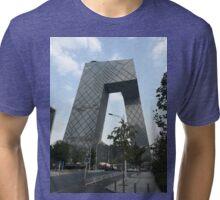 CCTV Building Beijing Tri-blend T-Shirt