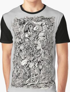 Life Without Skin by Brian Benson Graphic T-Shirt