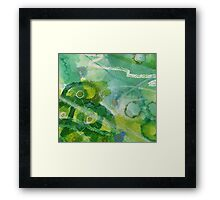 Secret Springtime Maps #5 Framed Print