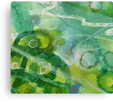 Secret Springtime Maps #5 Canvas Print