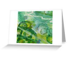 Secret Springtime Maps #5 Greeting Card