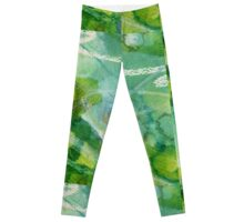 Secret Springtime Maps #5 Leggings