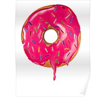 Drippy Donut Poster