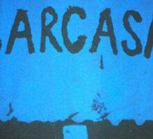 sarcasm sign Sticker