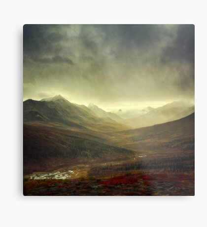 North Klondike River Valley after a storm Metal Print