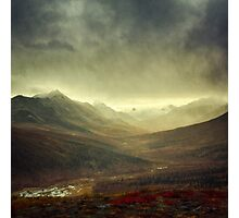 North Klondike River Valley after a storm Photographic Print