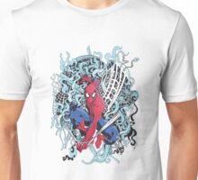 Illustrated Spiderman Unisex T-Shirt