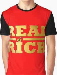 Real Rich Tanto Blacks Graphic T-Shirt