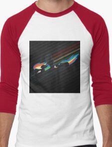 Rainbow Dash Abstract 4 Men's Baseball ¾ T-Shirt