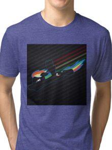Rainbow Dash Abstract 4 Tri-blend T-Shirt