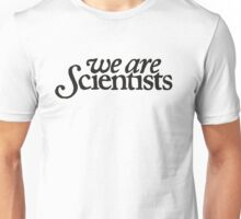 We Are Scientists Logo Unisex T-Shirt