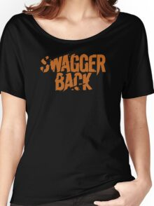 Swagger Back Women's Relaxed Fit T-Shirt