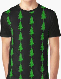 Plain Green Tree | Doug Fir/Pine/Evergreen Graphic T-Shirt
