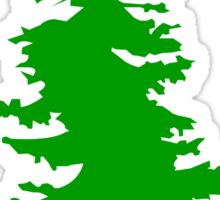 Plain Green Tree | Doug Fir/Pine/Evergreen Sticker