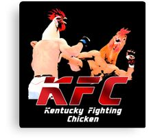 Kentucky Fighting Chicken Canvas Print