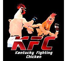 Kentucky Fighting Chicken Photographic Print