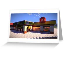 IslandCraft Shopping Plaza Greeting Card