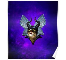 Winged Meowleficent Poster