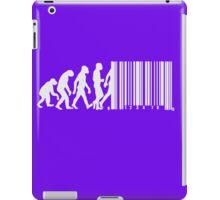 Evolution of Man Barcode iPad Case/Skin