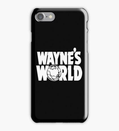 Wayne's World (HD vector graphic) iPhone Case/Skin